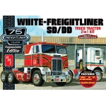 1:25 White Freighliner 2-in-1 SC/DD Cabover Tractor (75th Anniversary)