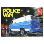 1:25 NYPD Chevy Police Van