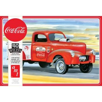 1:25 1940 Willys Pickup Gasser (Coca-Cola)