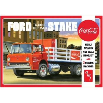 1:25 Ford C600 Stake Bed w/Coke Machine