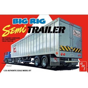 1:25 Big Rig Semi Trailer