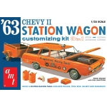 1:25 1963 Chevy II Station Wagon w/Trailer