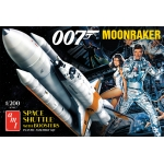 1:200 James Bond Moonraker Shuttle w/Boosters