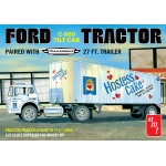 1:25 Ford C-900 Hostess Truck with Trailer