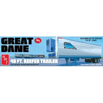1:25 Great Dane 40' Reefer Trailer (Coors)