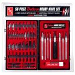 56 pc Deluxe Hobby Knife Set