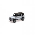1:43 Mercedes-Benz G500 4x4 - Silver