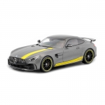 1:43 Mercedes-AMG GT R - Metal Grey with Yellow Stripe