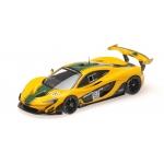 1:43 2015 McLaren P1 GTR - Yellow