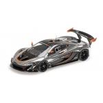 1:43 McLaren P1 GTR - Chrome & Gloss Black