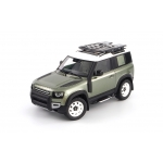 1:18 2020 Land Rover Defender 90 With Roof Pack - Pangea Green