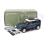 1:18 2020 Land Rover Defender 110 - Tasman Blue