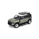 1:18 2020 Land Rover Defender 110 With Roof Pack - Pangea Green