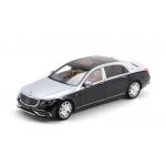 1:18 2019 Mercedes-Maybach-S-Class - Black/Silver