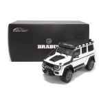 1:18 Brabus 550 Adventure Mercedes-Benz G 500 4X4 - White