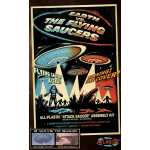 Earth vs The Flying Saucers Kit with Backdrop