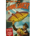 Vic Torrey and his Flying Saucer UFO