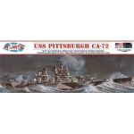 1:480 USS Pittsburgh CA-72 Heavy Cruiser
