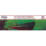 1:240 WWII Gato Class Fleet Submarine