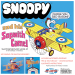Snoopy and his Sopwith Camel Plane SNAP Kit