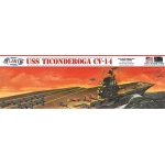 1:500 USS Ticonderoga Aircraft Carrier
