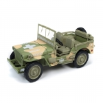 1:18th 1941 Jeep Willys - Army Medic Camo