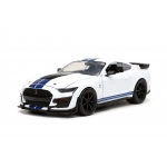 1:24 BTM - 20 Ford Mustang Shelby GT500 - Glossy White