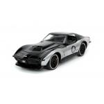 1:24 BTM - 69 Corvette Stingray - Black/Silver