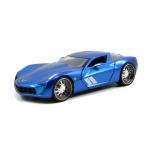 1:24 BTM - 09 Corvette Stingray Concept - Candy Blue