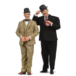 1:6 Laurel and Hardy Twin Set