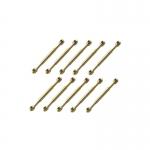 20mm Brass Rigging Screw / Bottlescrew x 10