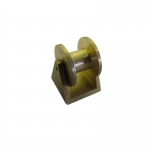 10x10mm Brass Cable Winch Roller x 1