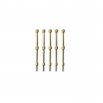 30mm Brass 2 Hole Rail Stanchion x 5
