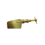 22x77mm Brass Rudder and Stock x 1