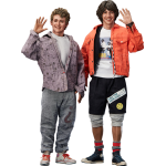 1:6 Bill and Ted - Bill and Ted's Excellent Adventure