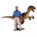 1:6 Dr. Alan Grant and Velociraptor Set