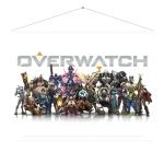 Overwatch Wallscroll  - Heroes