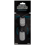 Call of Duty Modern Warfare Logo Dog Tags