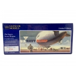 1:330 US Navy Blimp With Diorama Base