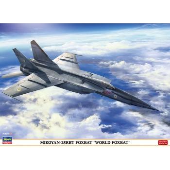 1:72 Mikoyan 25 RTB Foxbat - World Foxbat