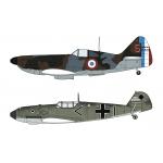 1:72 Dewoitine D.520 & Messerschmitt Bf109E 'BATTLE OF FRANCE'