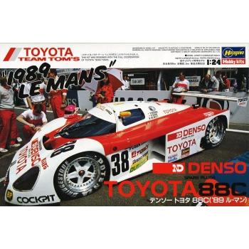 1:24 Denso Toyota 88C '1989 Le Mans'