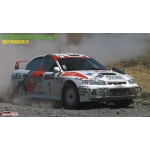 1:24 Mitsubishi Lancer Evolution IV '1997 Safari Rally'