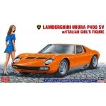 1:24 Lamborghini Miura P400 SV with Italian Girl Figure