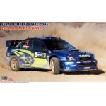 1:24 Subaru Impreza WRC 2005 Rally Mexico Winner