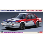 1:24 Nissan Bluebird 4Door Sedan SSS-R (U12) Late