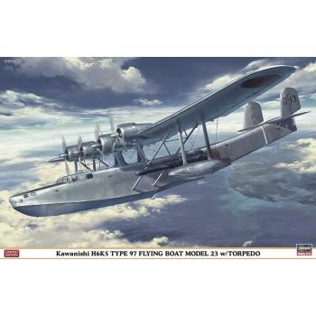 1:72 Kawanishi H6K5 Type 97 Flying Boat Model 23 with Torpedo