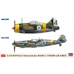 1:72 B-239 Buffalo & BF109G-6 - Finnish Air Force - Combo Kit