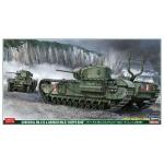1:72 Churchill Mk.1-II and Daimler Mk.II 'Dieppe Raid' Combo Kit