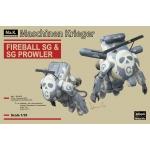 1:35 Fireball SG and SG Plowler - Combo Kit